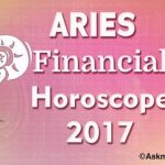 Aries Financial Horoscope 2017