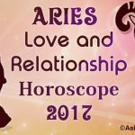 Aries Love and Relationship Horoscope 2017