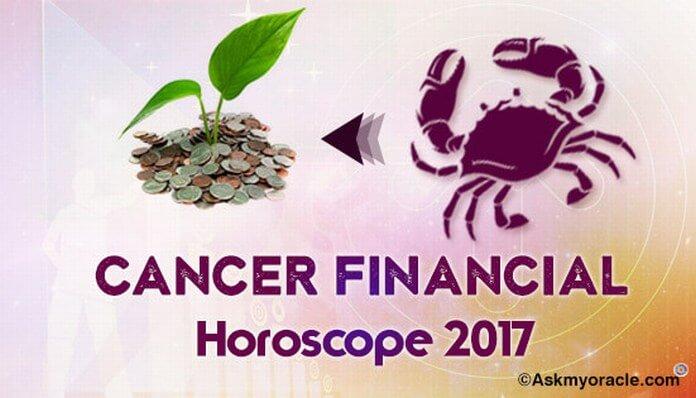 Cancer Financial Horoscope 2017