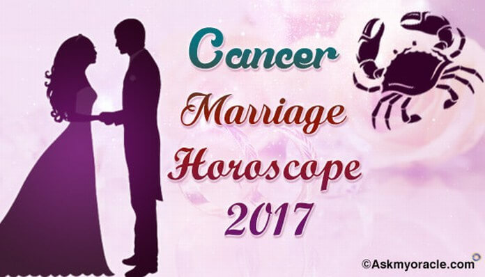 Cancer Marriage Horoscope 2017