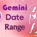 Gemini Date Range