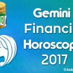 Gemini Financial Horoscope 2017