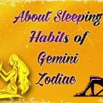 Sleeping Habits of Gemini Zodiac