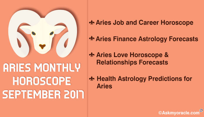Aries Monthly Horoscope September 2017