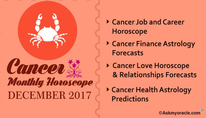 Cancer Monthly Horoscope December 2017