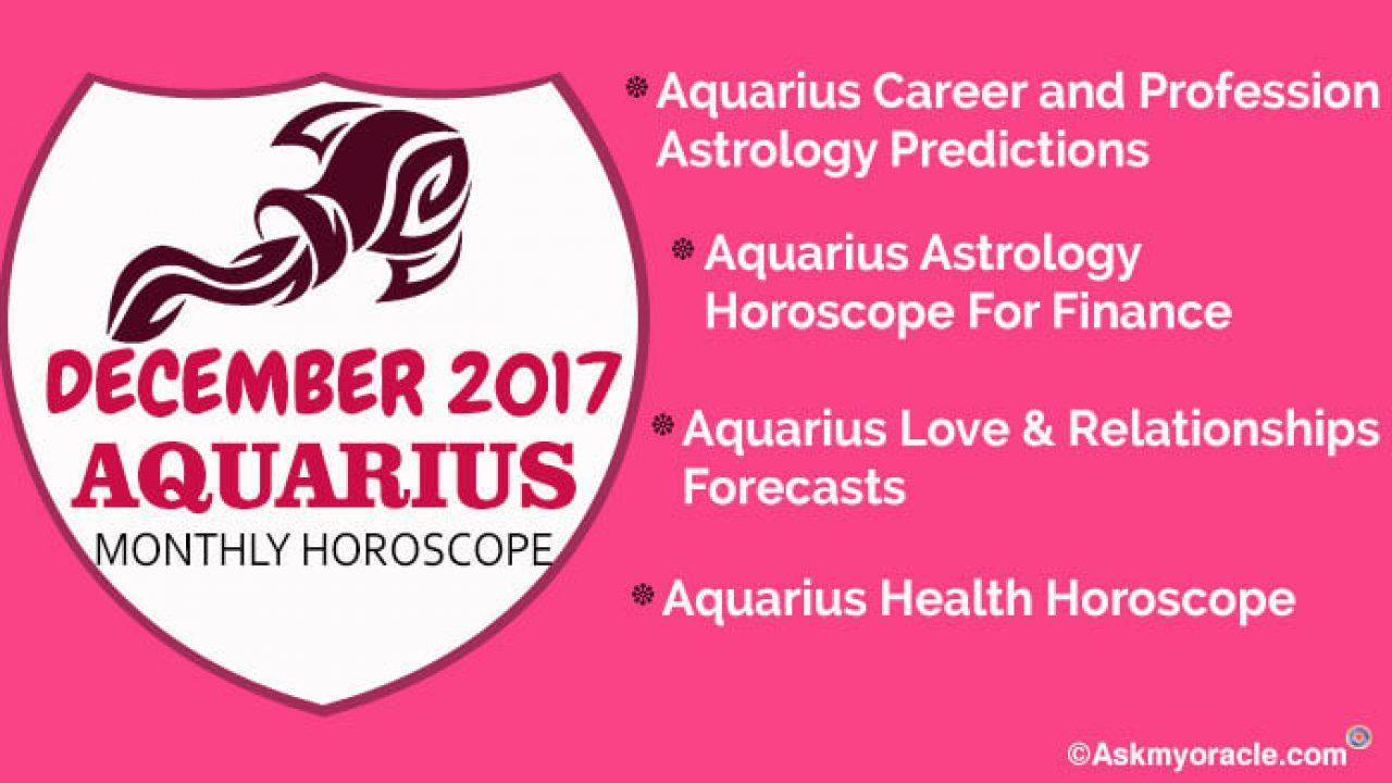 aquarius love horoscopes december