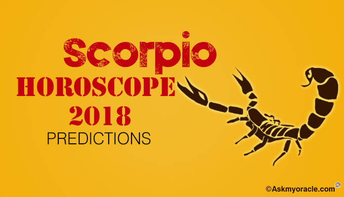 Scorpio Horoscope 2018 Predictions | Astrology 2018 - Ask My