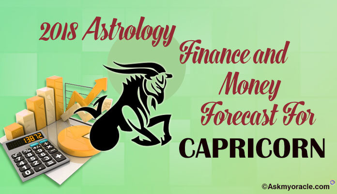 Capricorn Finance Horoscope 2018, Capricorn Money, Wealth 2018