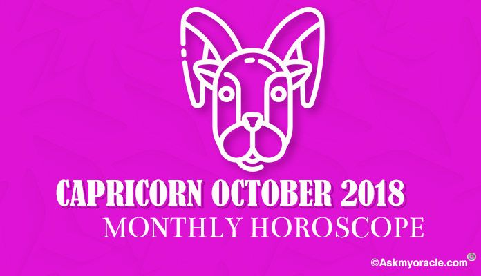 October 2018 Capricorn Monthly Horoscope - Capricorn Monthly Horoscope