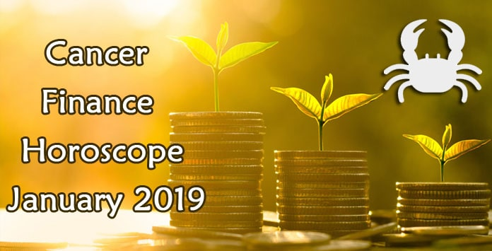 Cancer January 2019 Finance Horoscope