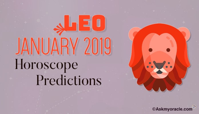 Leo January 2019 Horoscope - Leo Monthly Horoscope 2019