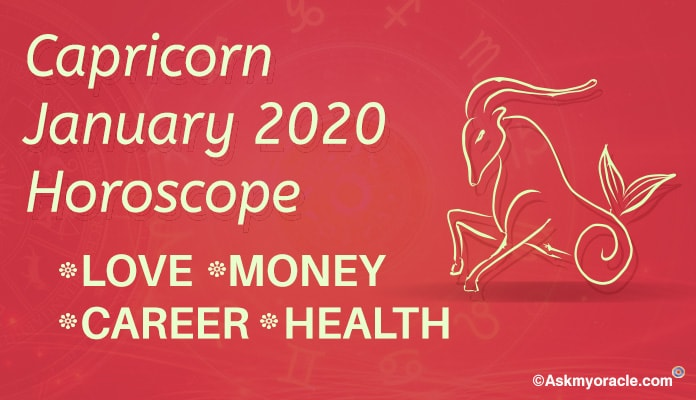 Capricorn January 2020 Monthly Horoscope