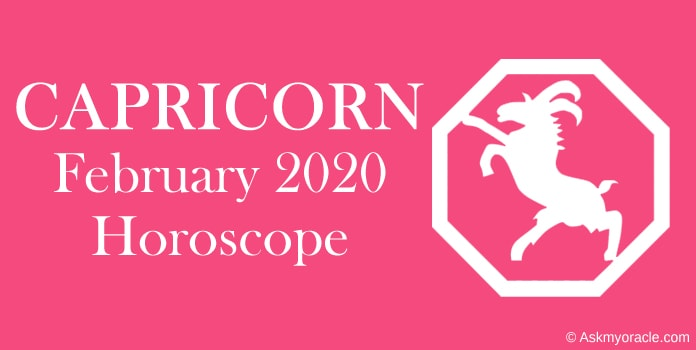 Capricorn February 2020 Monthly Horoscope